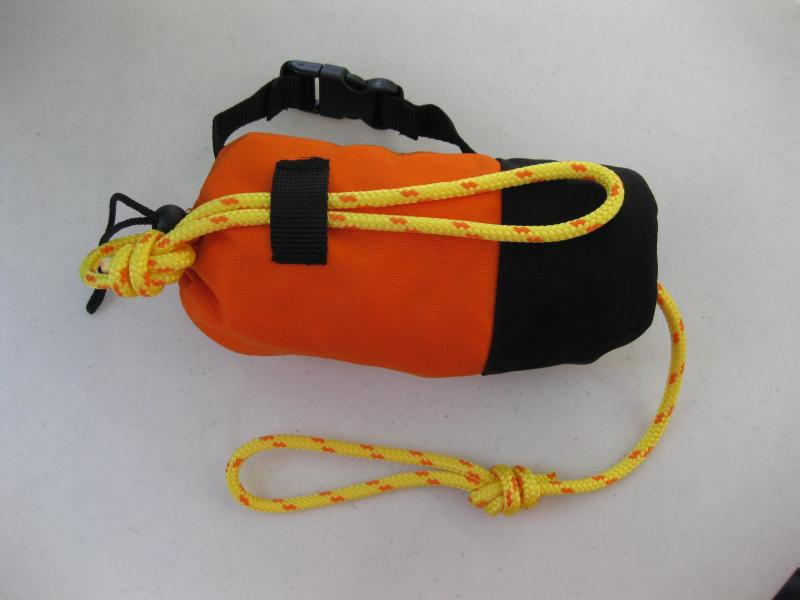 "Safety Throw Bags 1/4"" x 50'"